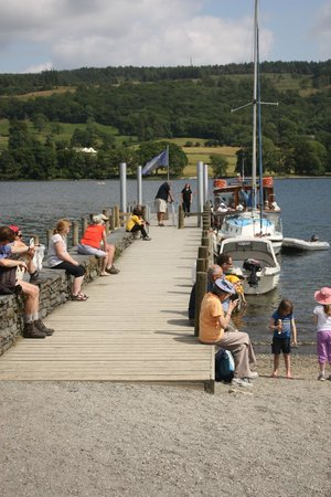 Pier on Coniston Water