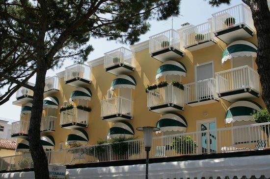 Grottamare Hotel: Facciata hotel