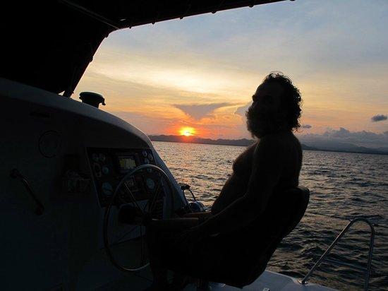 Nautiness Sailing: Sunset on NAUTINESS II