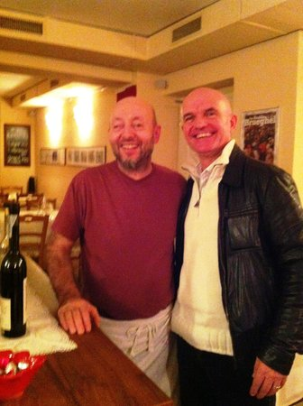 Osteria Mistral : Il chef Luca Brughelli