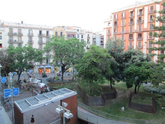 Citadines Ramblas Barcelona: vue arrière