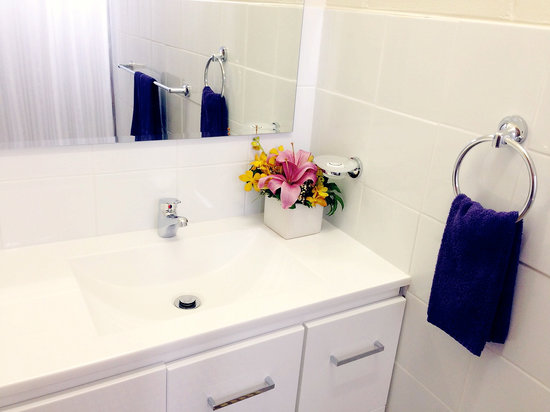 Paradise Court Holiday Units : Self Contained Studio Bathrooms
