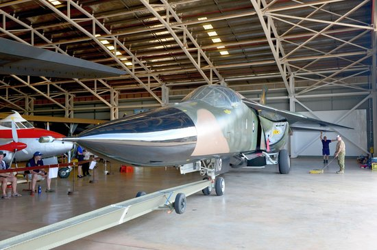 Darwin Aviation Museum: Arrival of the F-111 in July -2
