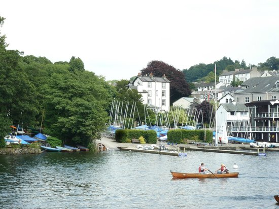 View of New Hall Bank from Lake Windermere