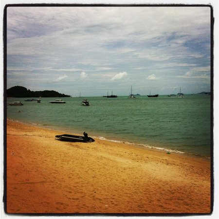 Chaweng Beach closeby the Park Samui