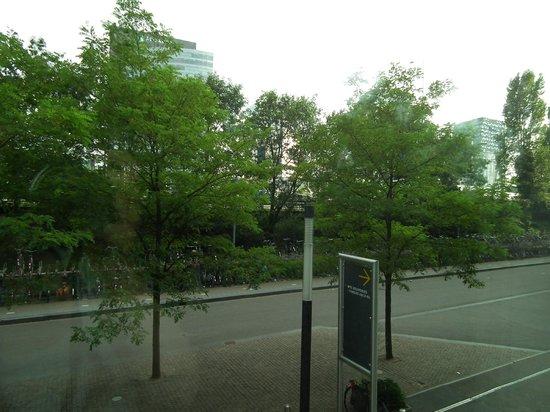 Qbic Hotel Amsterdam WTC: Utsikten