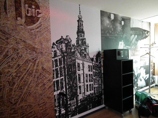 Qbic Hotel Amsterdam WTC: Rummet
