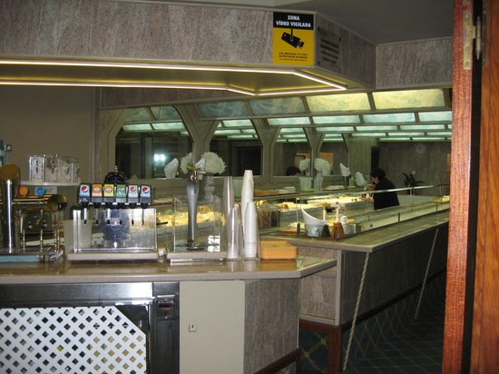 Continental Palacete: buffet room