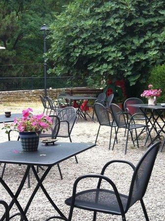 Antica Locanda La Canonica: il giardino