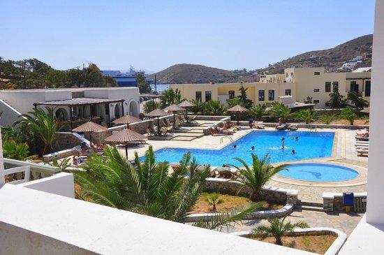 Yialos Ios Hotel : Pool/Poolbar