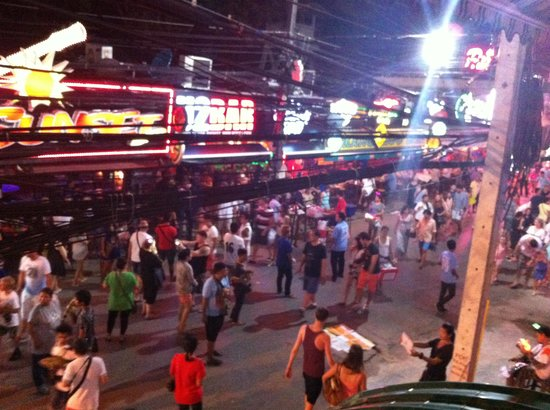 Bangla Road By Night! - Picture of Bangla Road, Patong ...