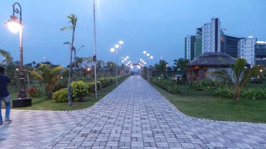 Eco Tourism Park: entrance to eco park