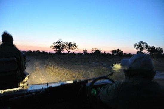 Pungwe Bush Camp : Night falls on Kruger