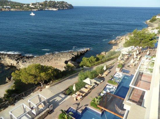 Penthouse views picture of iberostar suites hotel jardin for Bistro del jardin mallorca
