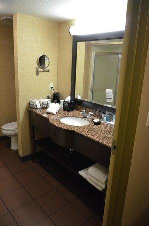 Hampton Inn & Suites Carson City: bathroom