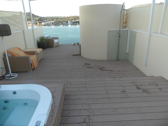 Penthouse views picture of iberostar suites hotel jardin for Jardin de sol
