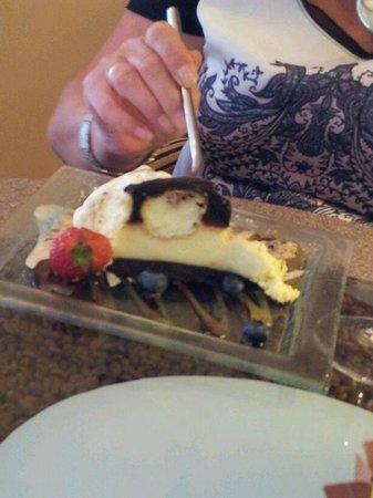 Cafe Italia: Profiterole cheesecake