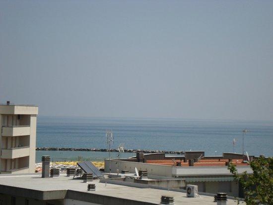 Hotel Europa : Vista del mare di Gatteo