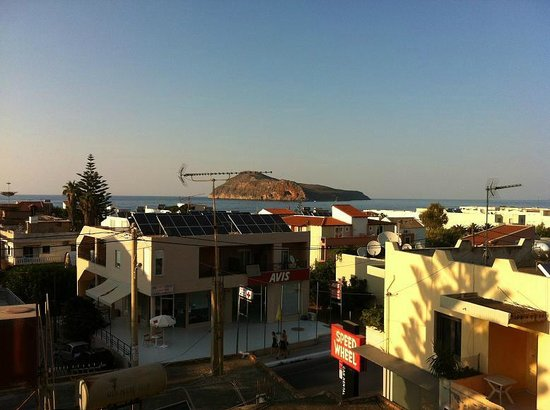 Frideriki Studios & Apartments: Vista dalla camera
