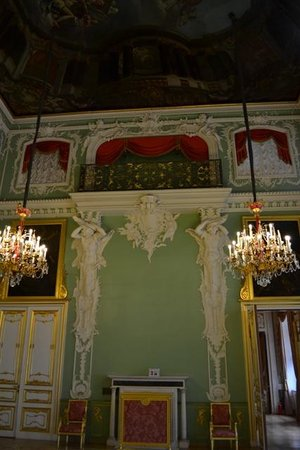 Stroganov Palace: Interior do museu