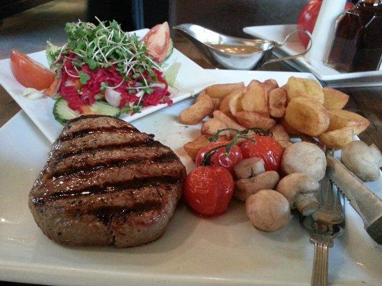 The Pheasant Restaurant & Pheasant Inn: Grilled steak at The Pheasant