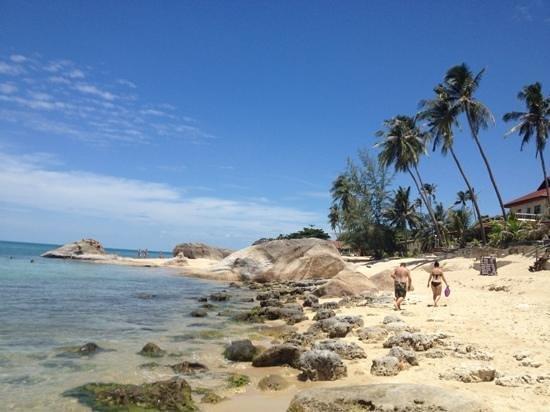 บิลล์ รีสอร์ท: la plage de l'hôtel