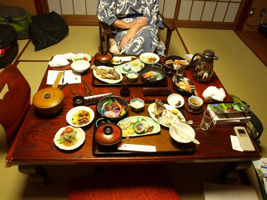 Sumiyoshiya: Dinner!