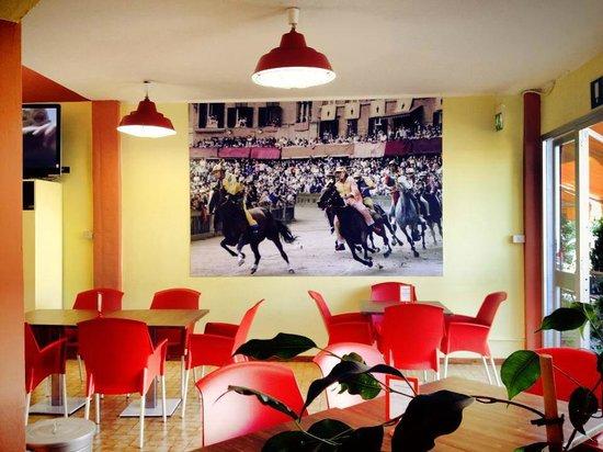 Siena Hostel Guidoriccio : Guidoriccio Lounge