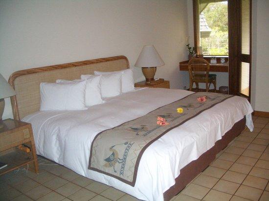 Palau Pacific Resort: 素敵なベッドルーム