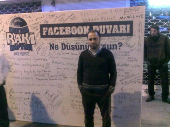 Kumkapi Akvaryum Restaurant: facebook corner