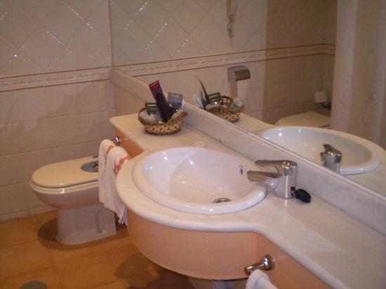 Torremangana Hotel: Vista del baño.