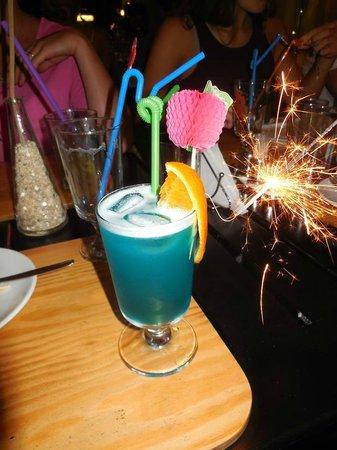 Cafe Vita Restaurant : Blue Hawaii