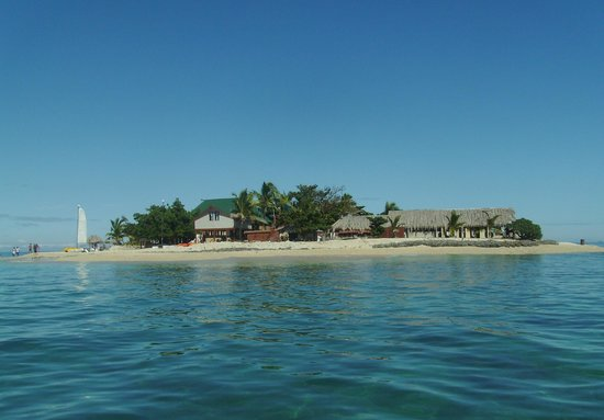 South Sea Island Accommodation: Arriving at South Sea Island