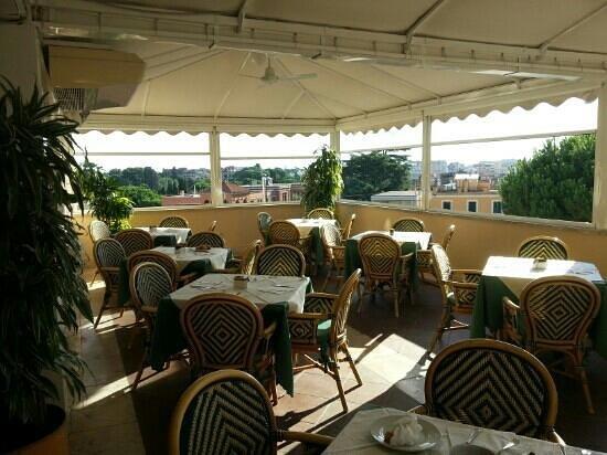 Villa Morgagni: sala colazione