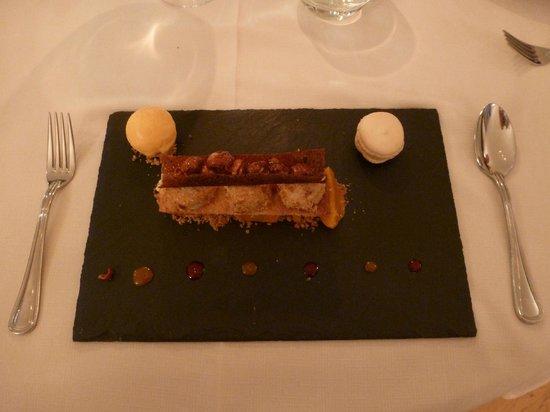 Chateau de l'Hoste: Dessert