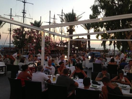 Aphrodite Restaurant: Aphrodite terrace 2