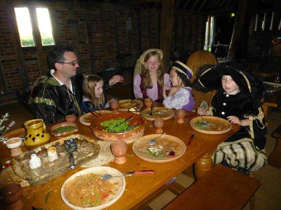 Milden Hall B&B: tudor banquet