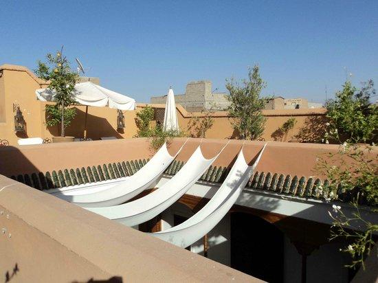 Riad Smara: Terraza
