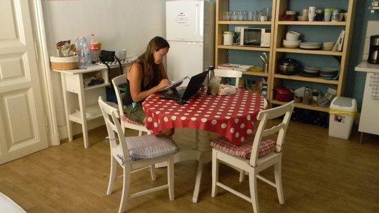 Hipster Hostel: cocina