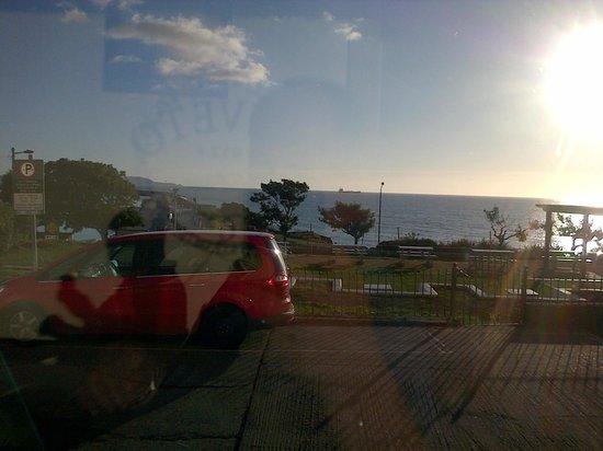 Haddington House : The view at breakfast
