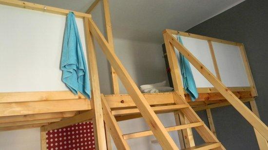 Hipster Hostel: Habitación 10 personas