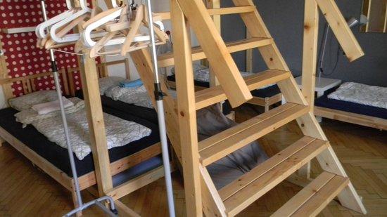 Hipster Hostel: habitación