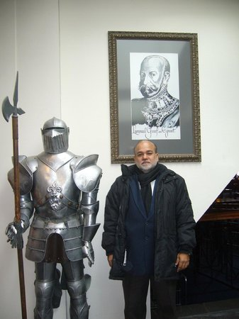 Hotel Zuiderduin: A knight in armour and me