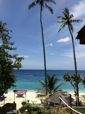 Casa Nemo Beach Resort and SPA: View from the restaurant during breakfast