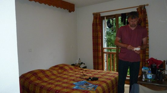 Hotel les Melezes: Our room