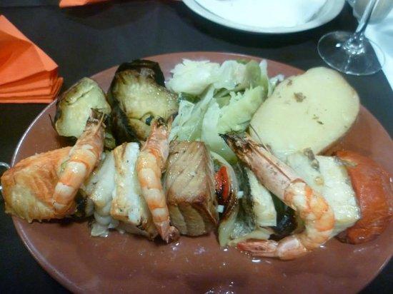 O Jango : Brochette de poissons !