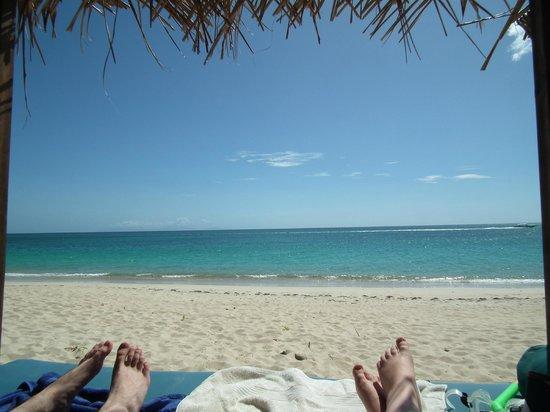 Keyonna Beach Resort Antigua : On our Bali bed