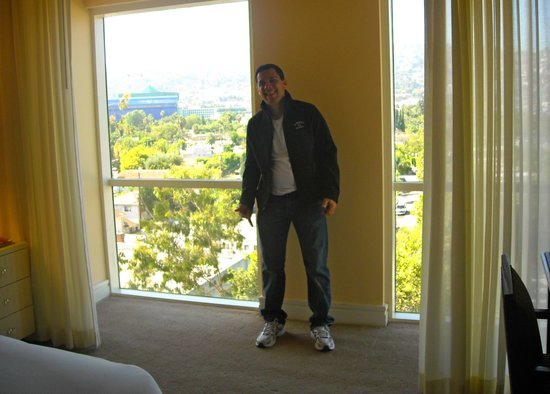 Sofitel Los Angeles at Beverly Hills: the room´s view