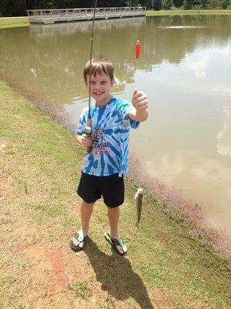 Go Fish Education Center: Got one!
