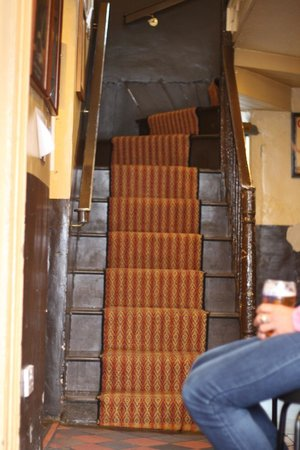 Johnny Joes (McCollums): The staircase (obviously)